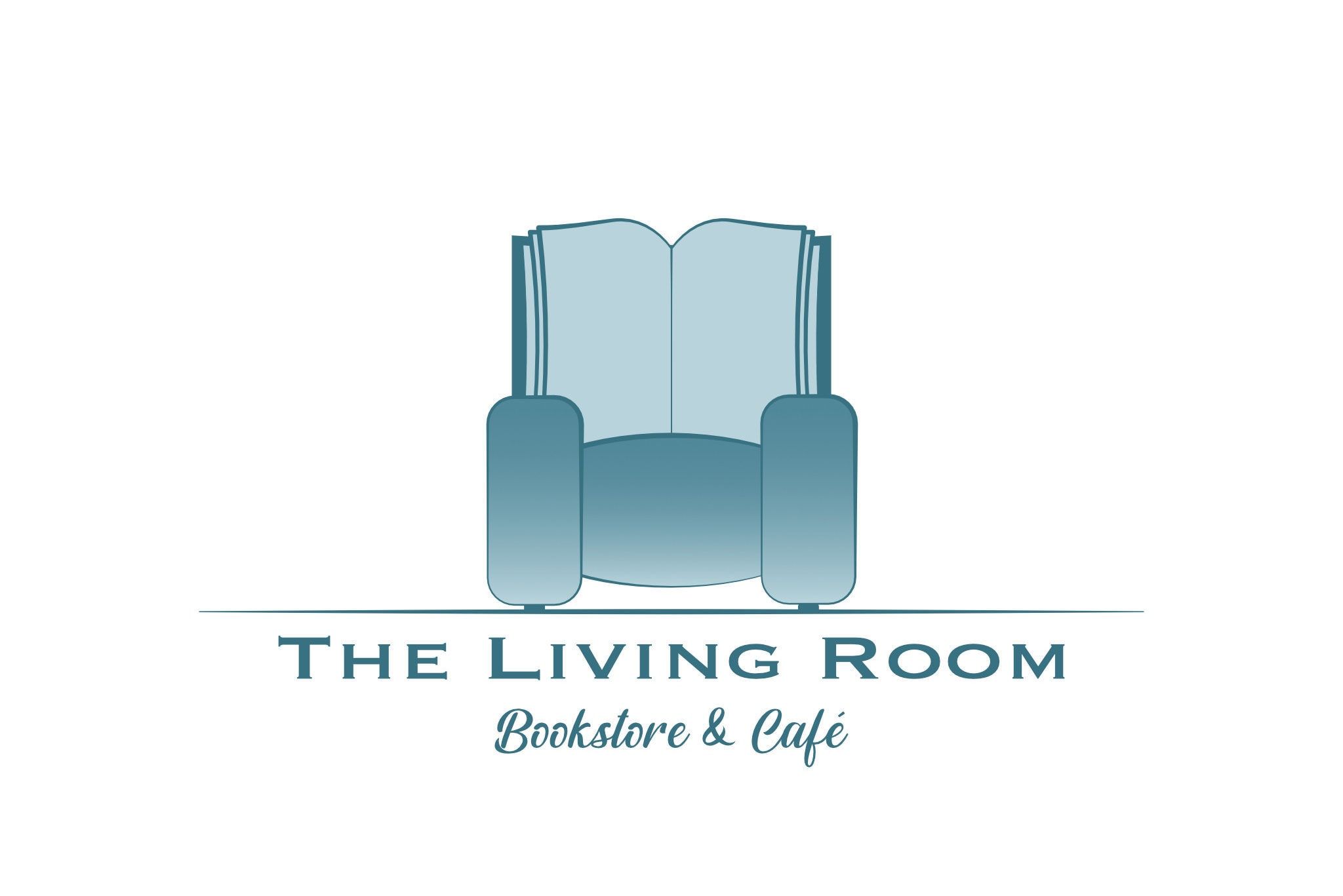 Bookstore & Cafe Logo