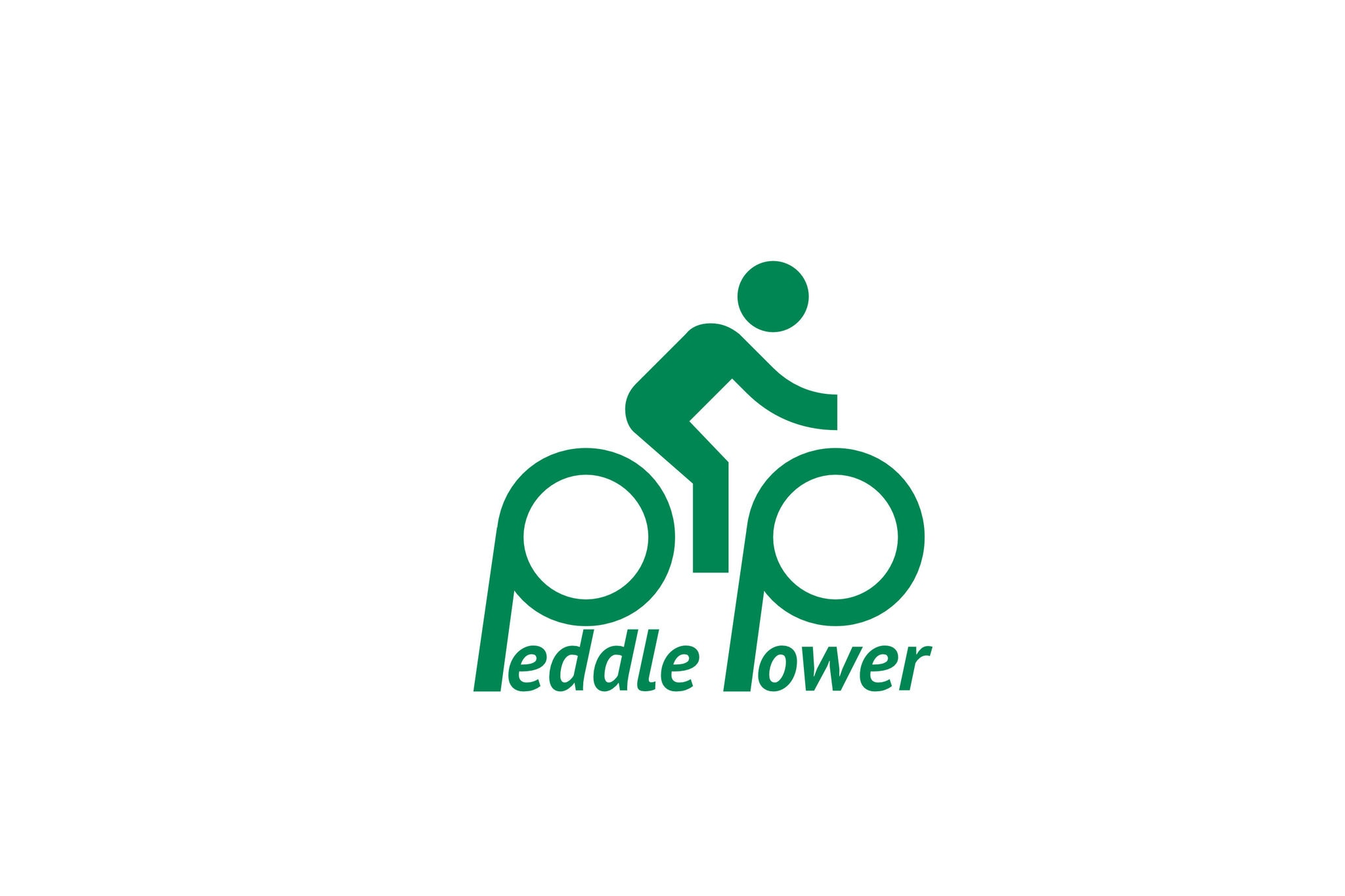 Peddle Power Bicycle Shop Logo